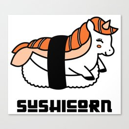 Sushicorn Canvas Print