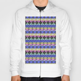 Ornament in the style of hippies 1. Hoody