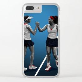 Venus & Serena Williams Clear iPhone Case