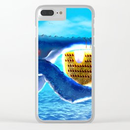 Your transport is here Clear iPhone Case
