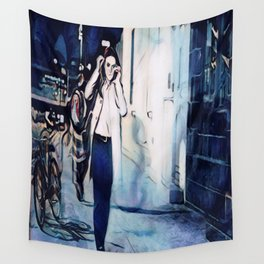 Every Twisted Little Flower Wall Tapestry
