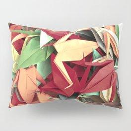 Senbazuru | reds n greens Pillow Sham