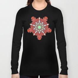 Tibetan Filigree v108 Long Sleeve T-shirt