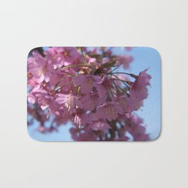 Prunus kursar - the signs of spring Bath Mat
