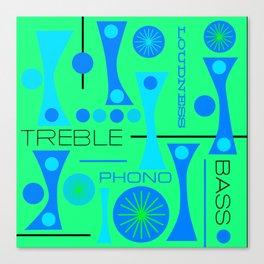 TREBLE BASS 4 Canvas Print