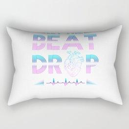 Let The Beat Drop For Nurses Rectangular Pillow