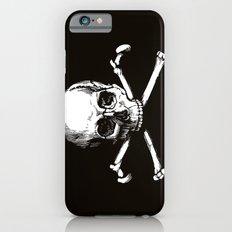 Skull and Crossbones   Jolly Roger Slim Case iPhone 6s