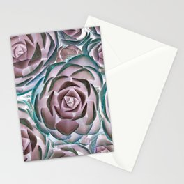 Succulent Succulents Stationery Cards