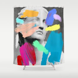 Composition 721 Shower Curtain