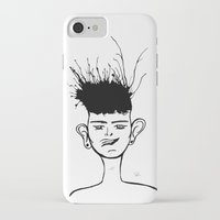 jay fleck iPhone & iPod Cases featuring Jay by Ivana Quesada