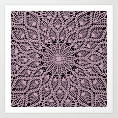 Delicate Pink Art Print