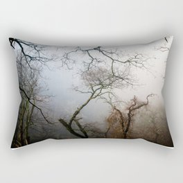 Misty Morning in Scotland Rectangular Pillow