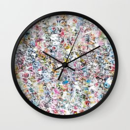 Overlapping Conversations Wall Clock