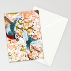 The seasons | Spring birds Stationery Cards
