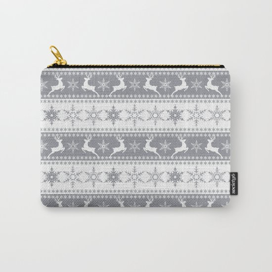 Christmas pattern . Carry-All Pouch