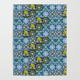 Geometric art pattern1 Poster