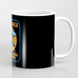 Mining Area Machines Working Hand In Hand for Miner Coffee Mug