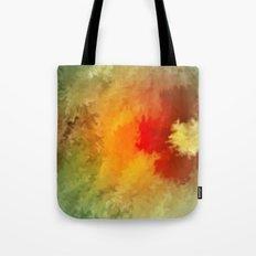 Summer floral wallpapaer. Tote Bag