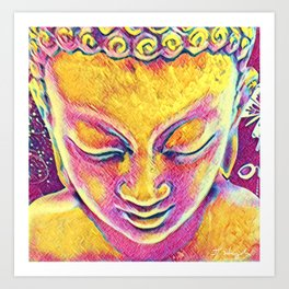 Buddha Dreams Art Print