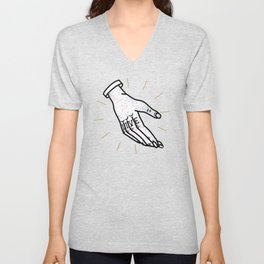 A Helping Hand Unisex V-Neck
