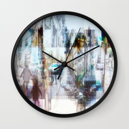 ...all the while or crawl the aisle, or reconcile. Wall Clock