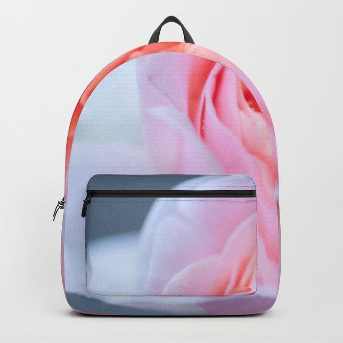 Forever in Love - Pink Rose #1 #decor #art #society6 Backpack