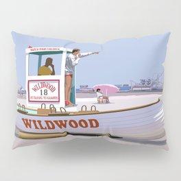 Wildwood Beach Patrol Pillow Sham