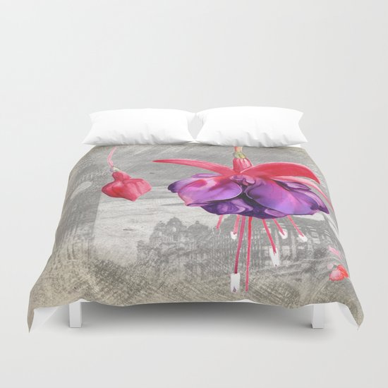 Macro Flower #7 Duvet Cover