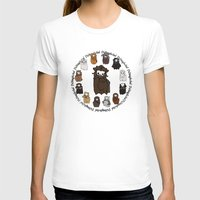 nori T-shirts featuring Dwarpacas(Nori) by Lady Cibia