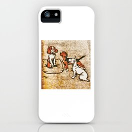 Dogs Large and Small, Ideal for Dog Lovers (53) iPhone Case
