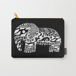 black elephant ecopop Carry-All Pouch