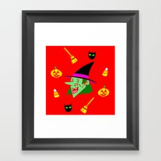 Season Of The Witch Framed Art Print