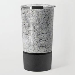Rock the Casbah // concrete and paint colorblock collage Travel Mug