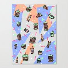 Atomic Munchies Canvas Print