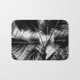 Palm Tree Glass Ceiling Abstract Bath Mat