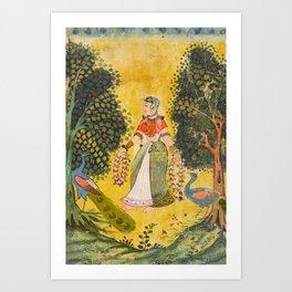 Kakubha Ragini Art Print