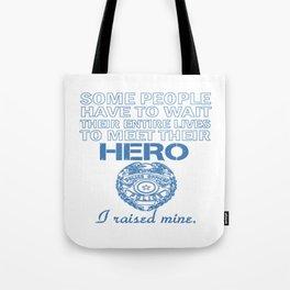 Police Officer's Mom Tote Bag