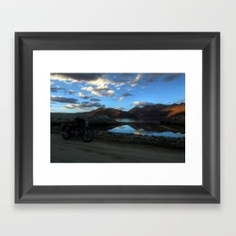 Pangong Blues! Framed Art Print
