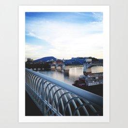 Rivers & Roads Art Print