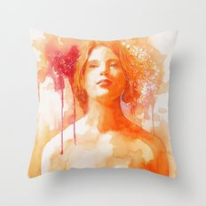 Make me feel Throw Pillow