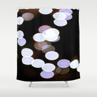bokeh Shower Curtains featuring Bokeh by Kai Gee