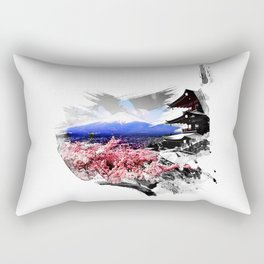 Japan - Fuji Rectangular Pillow