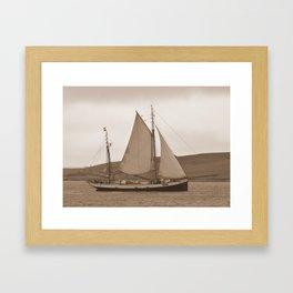 The Tecla Framed Art Print