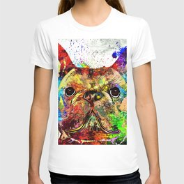 French Bulldog Grunge T-shirt