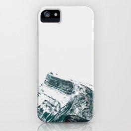 Mt. Rundle iPhone Case