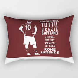 Arrivederci Totti Rectangular Pillow