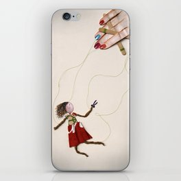 Cutting Ties iPhone Skin