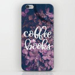 Coffee + Books iPhone Skin