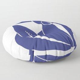 Matisse Cut Out Figure #2 Deep Blue Floor Pillow