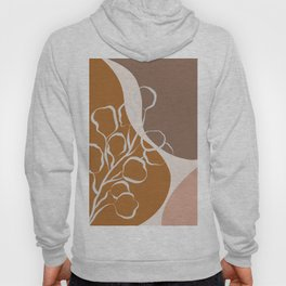 Organic Shapes & Plants Hoody